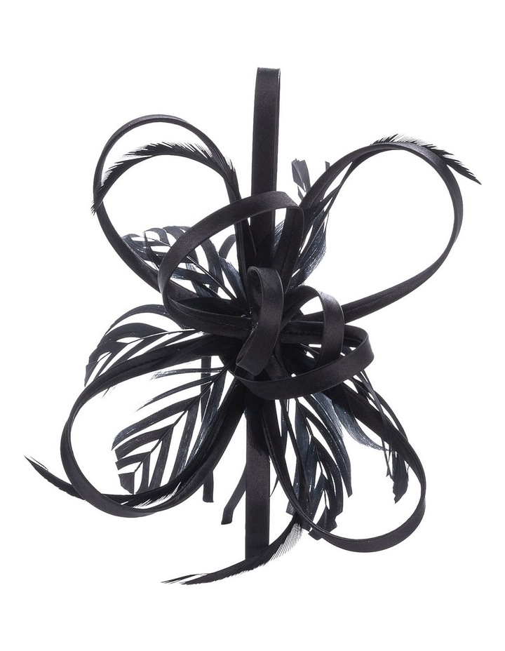 Satin Loops And Feathers Fascinator image 3