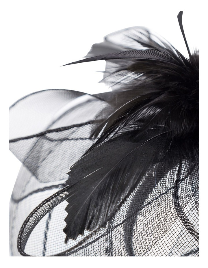 Stiched Crinoline With Feathers Fascinator image 3