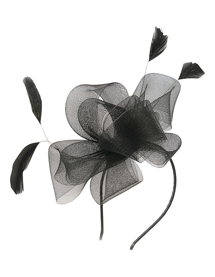 Crin Loops With Feathers Fascinator image 2