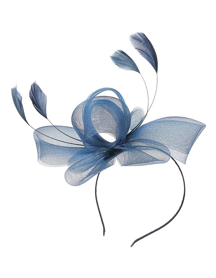 Crin Loops With Feathers Fascinator image 1