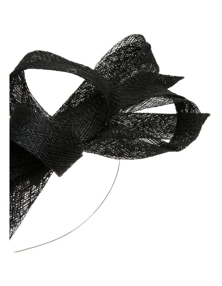 Sinamay Bow Fascinator - Blush image 3