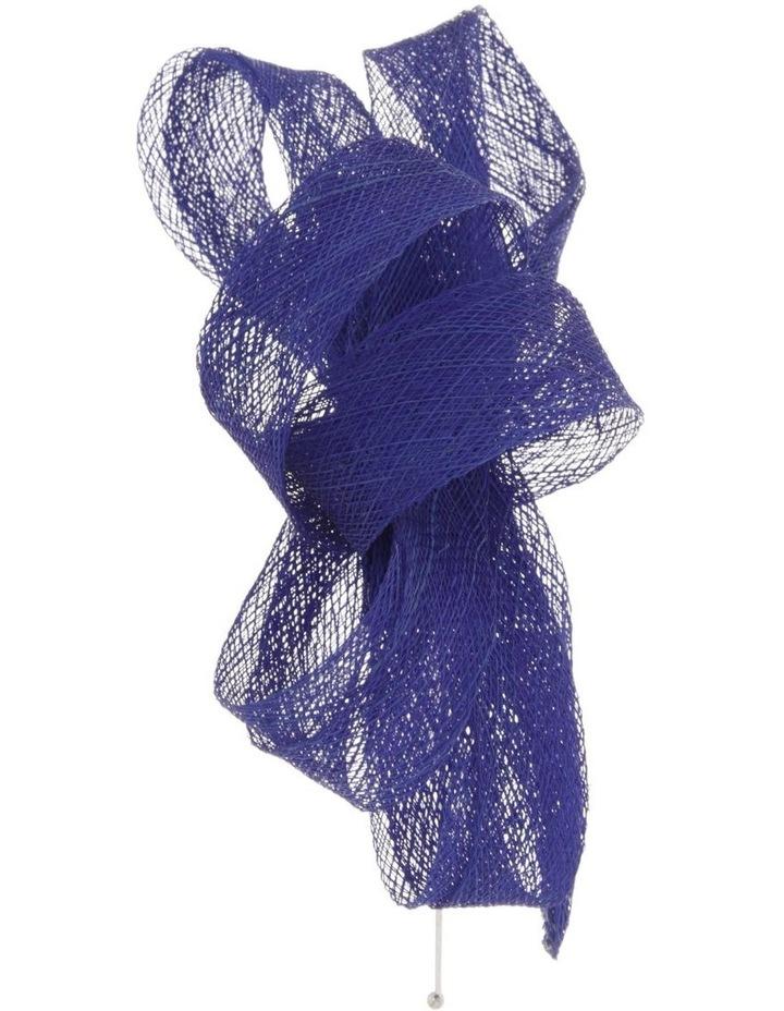Sinamay Bow Fascinator - Cobalt image 2