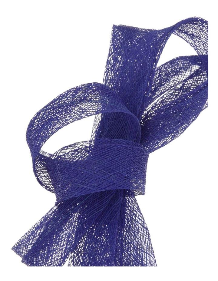 Sinamay Bow Fascinator - Cobalt image 3