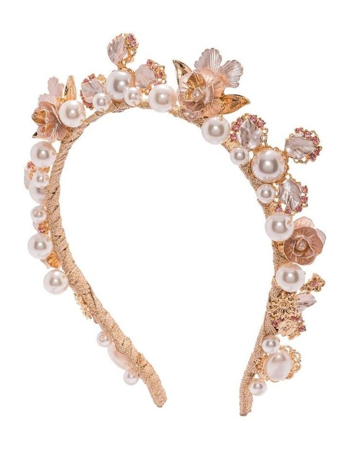 Sofia Embellished Pearl Crown image 2