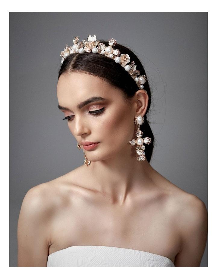 Sofia Embellished Pearl Crown image 3