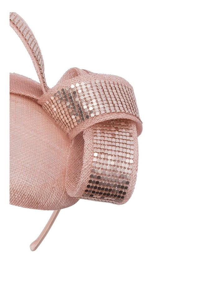 Cosette Mesh Trimmed Button Fascinator image 2