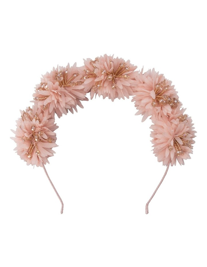 Etta Beaded Pom Pom Crown image 1
