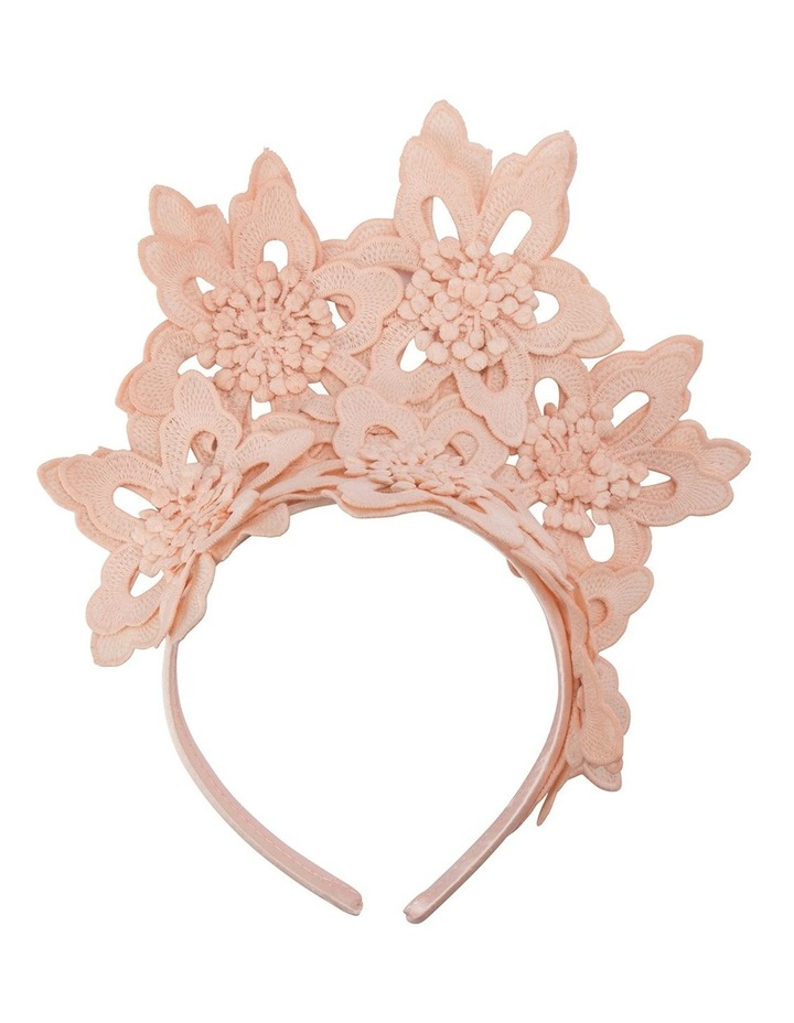 Everley Floral Lace Fascinator image 1