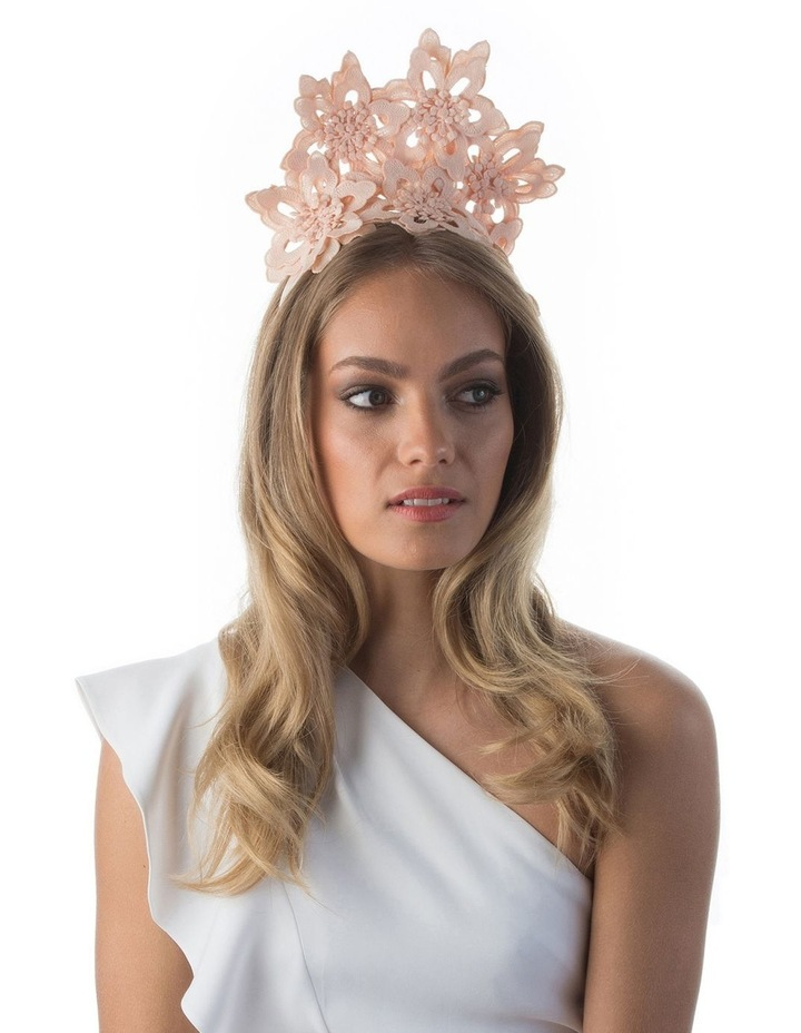 Everley Floral Lace Fascinator image 3