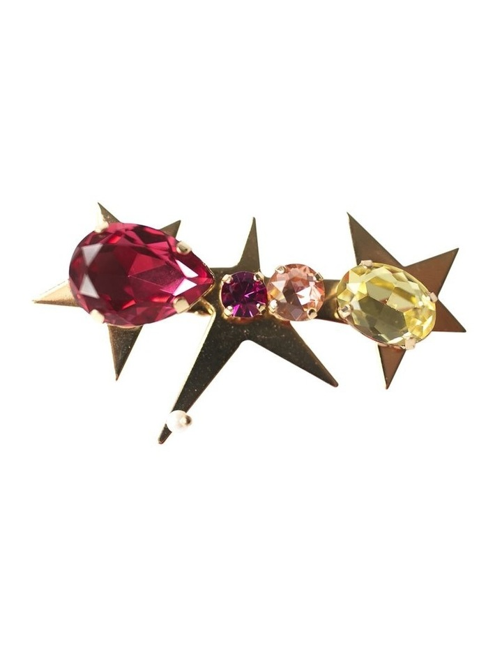 Jewel Stars Barette Hair Clip image 1