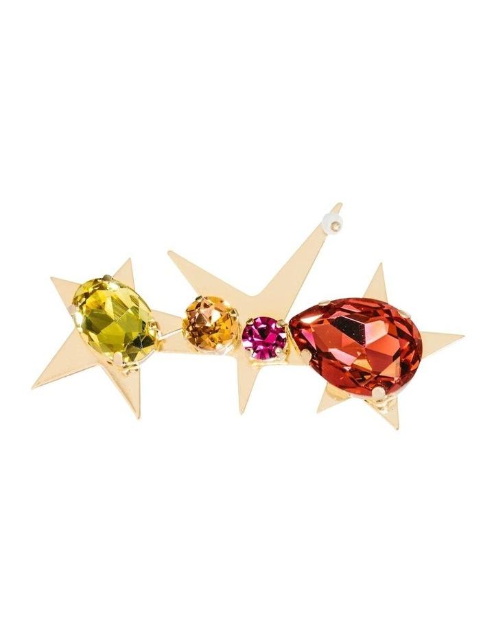 Jewel Stars Barette Hair Clip image 2