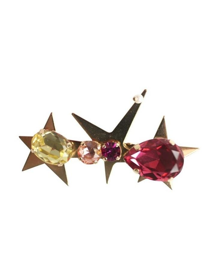 Jewel Stars Barette Hair Clip image 3