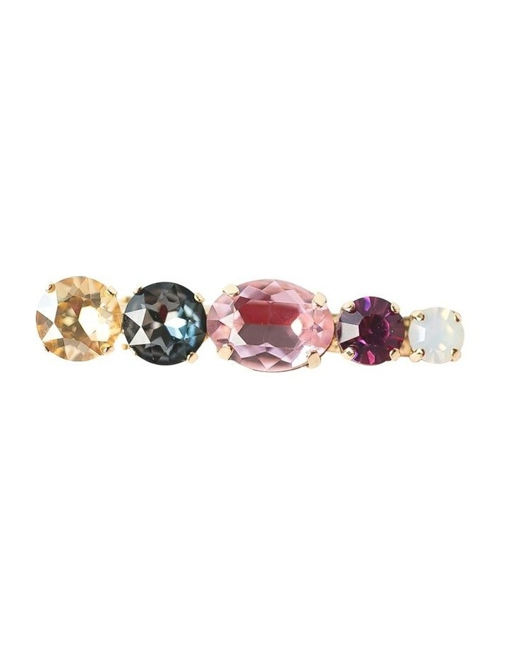 Jewel Barrette Clip Pinks image 1