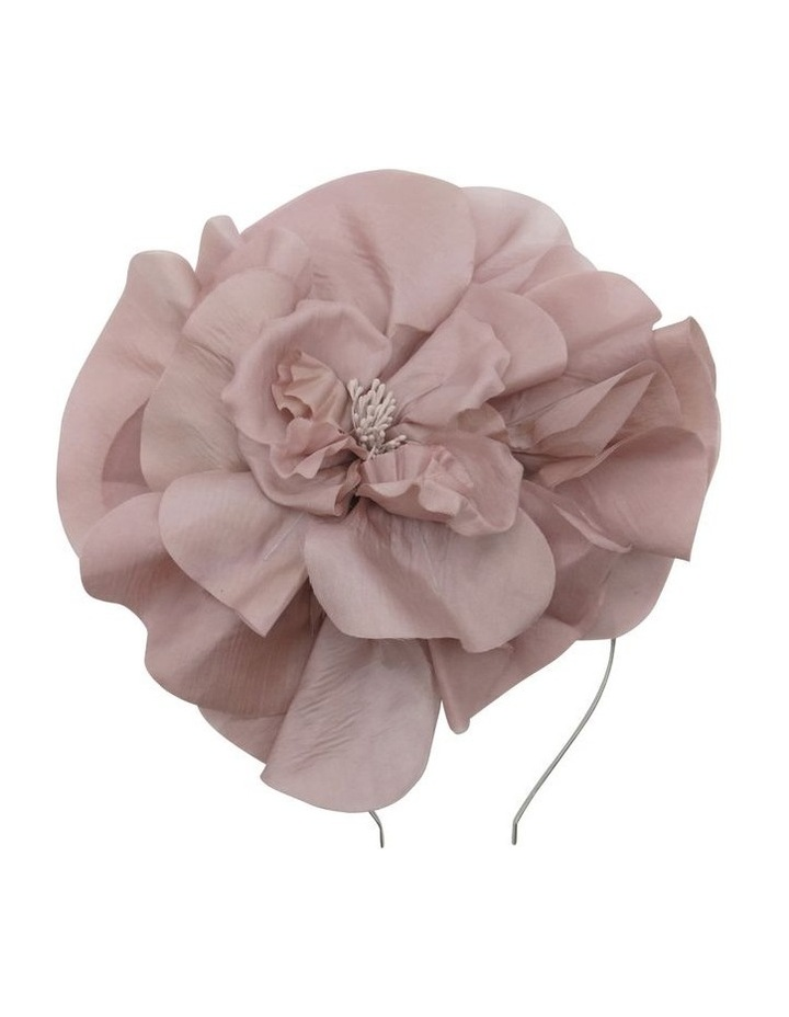 Large Silk Flower Headband image 1
