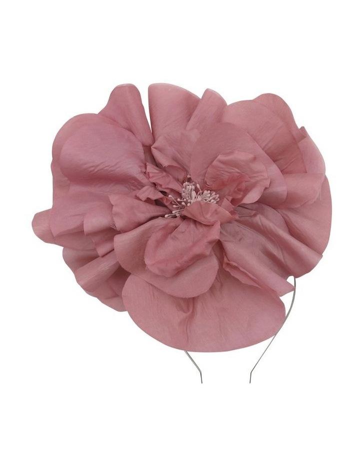 Large Silk Flower Headband image 1