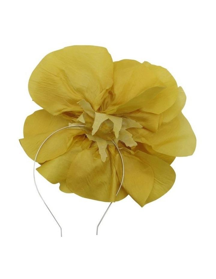 Large Silk Flower Headband image 2