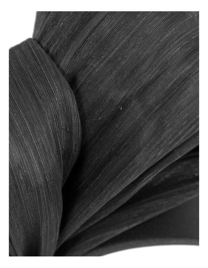 Large Silk Bow On Black Headband Fascinator image 2