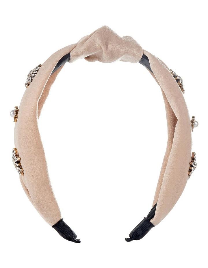 Starburst Turban Style Blush Headband image 1