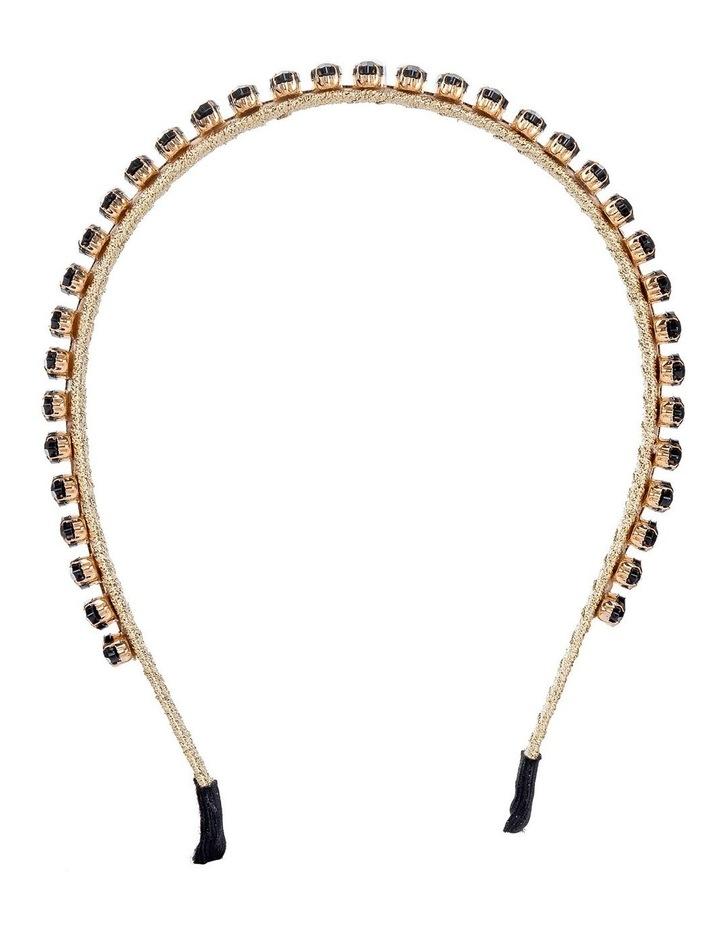 Marquise Stones On Black Headband image 1