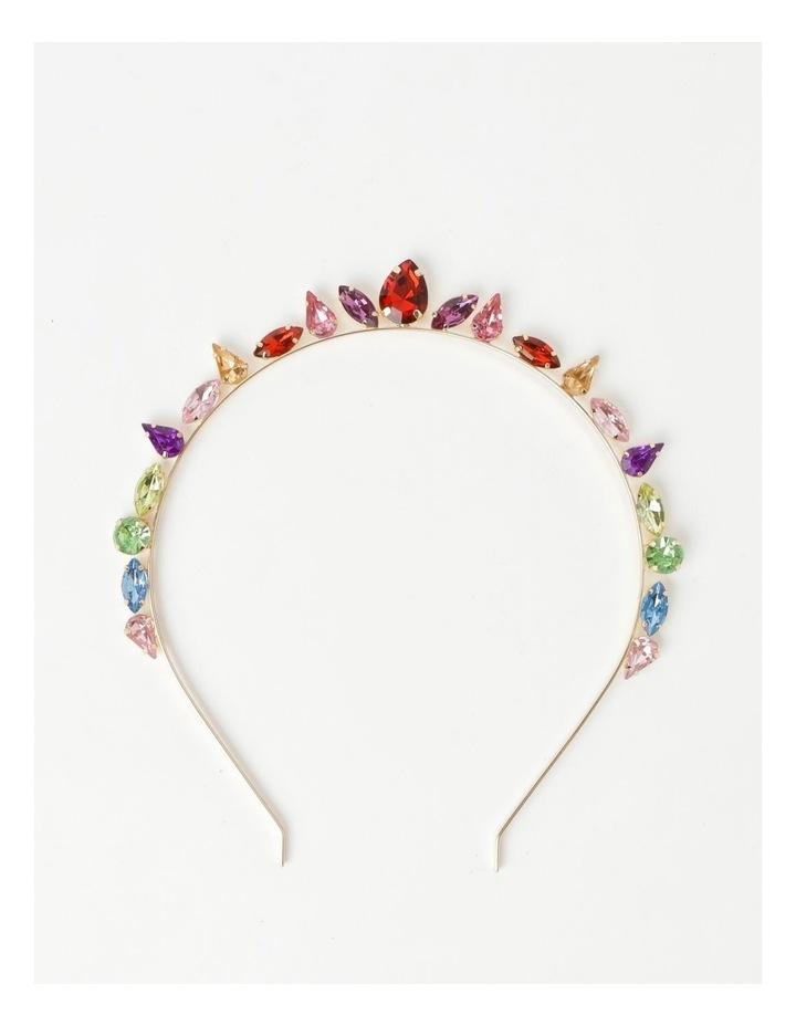 Embellished Jewel Crown Headband image 1
