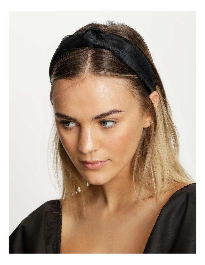 Knot Detailed Black Headband image 2