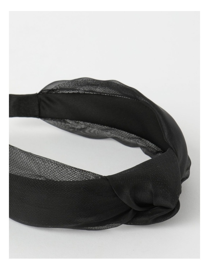 Knot Detailed Black Headband image 5