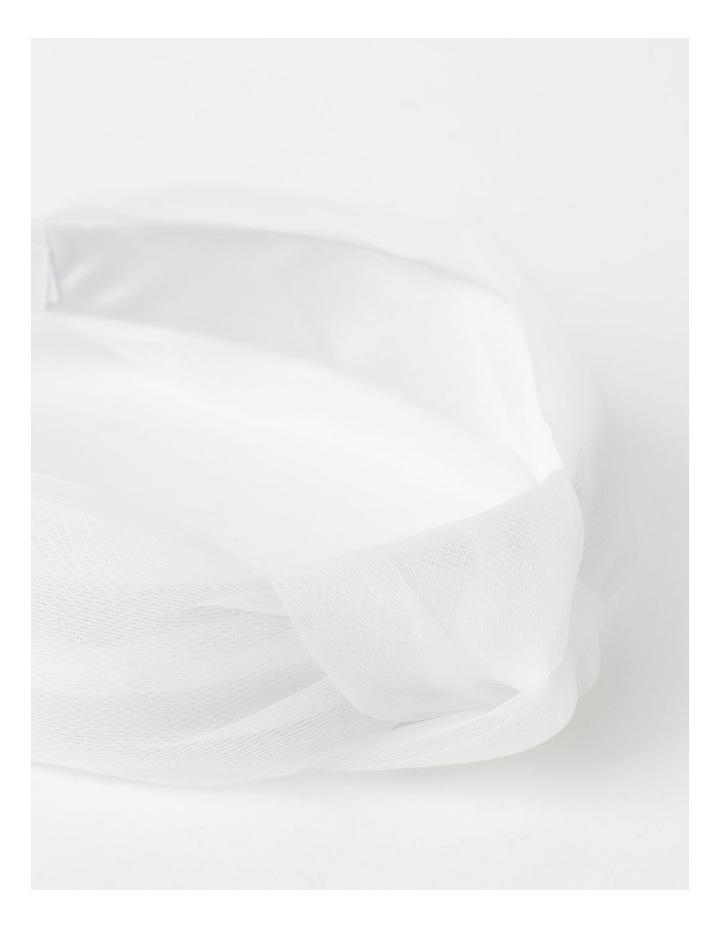 Knot Detailed White Headband image 3