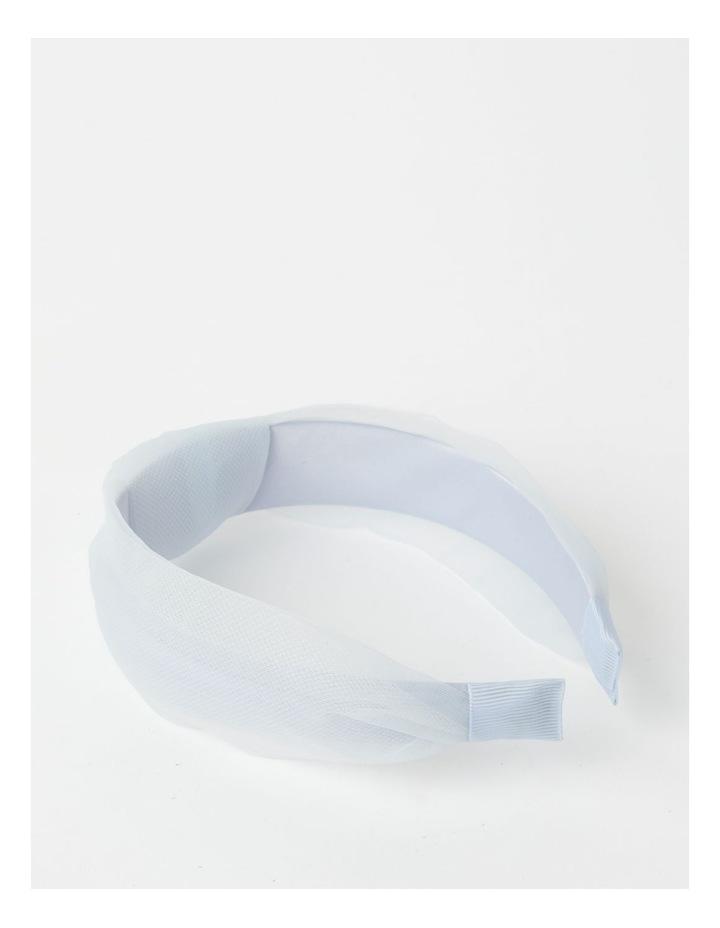 Knot Detailed Blue Headband image 4