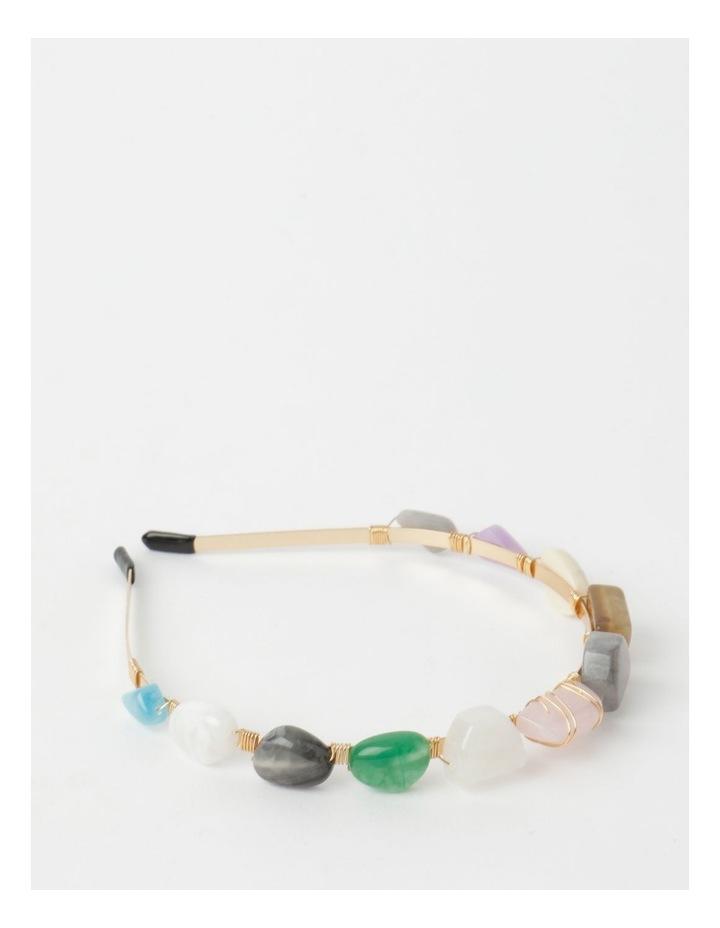Coloured Stone Headband image 1