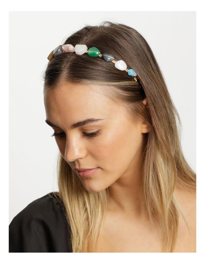 Coloured Stone Headband image 2