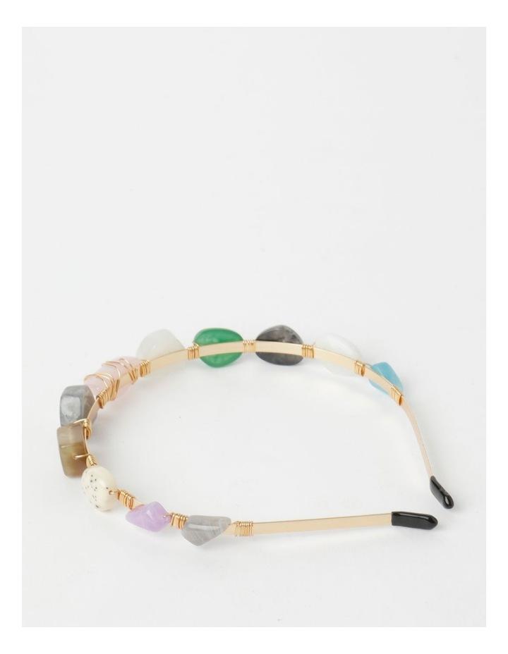Coloured Stone Headband image 4