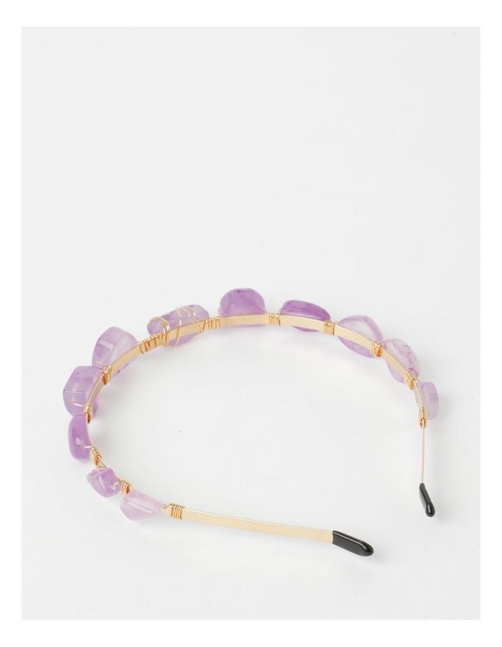 Coloured Stone Headband image 5