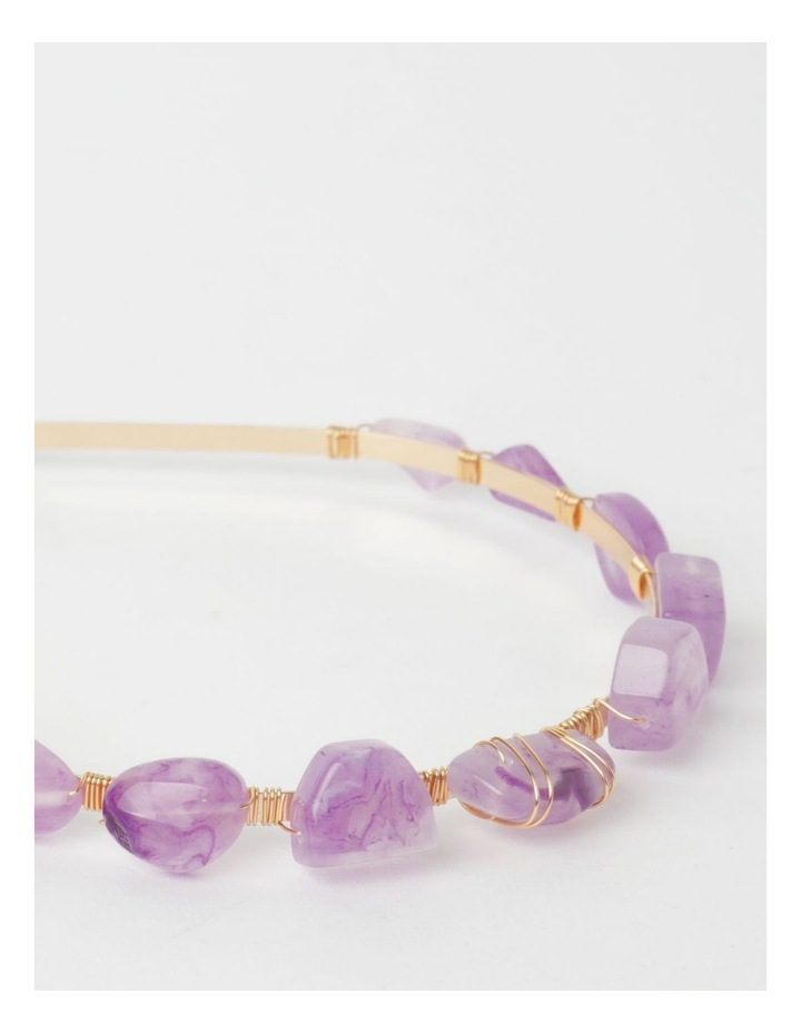 Coloured Stone Headband image 6