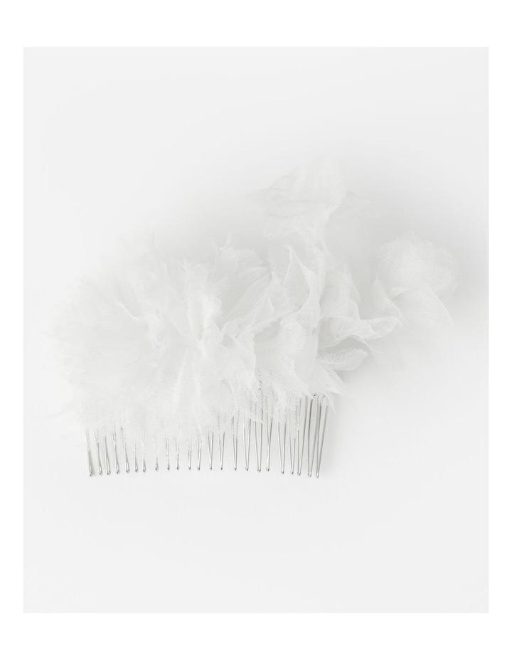 Collection Organza Flower Hair Slide image 1