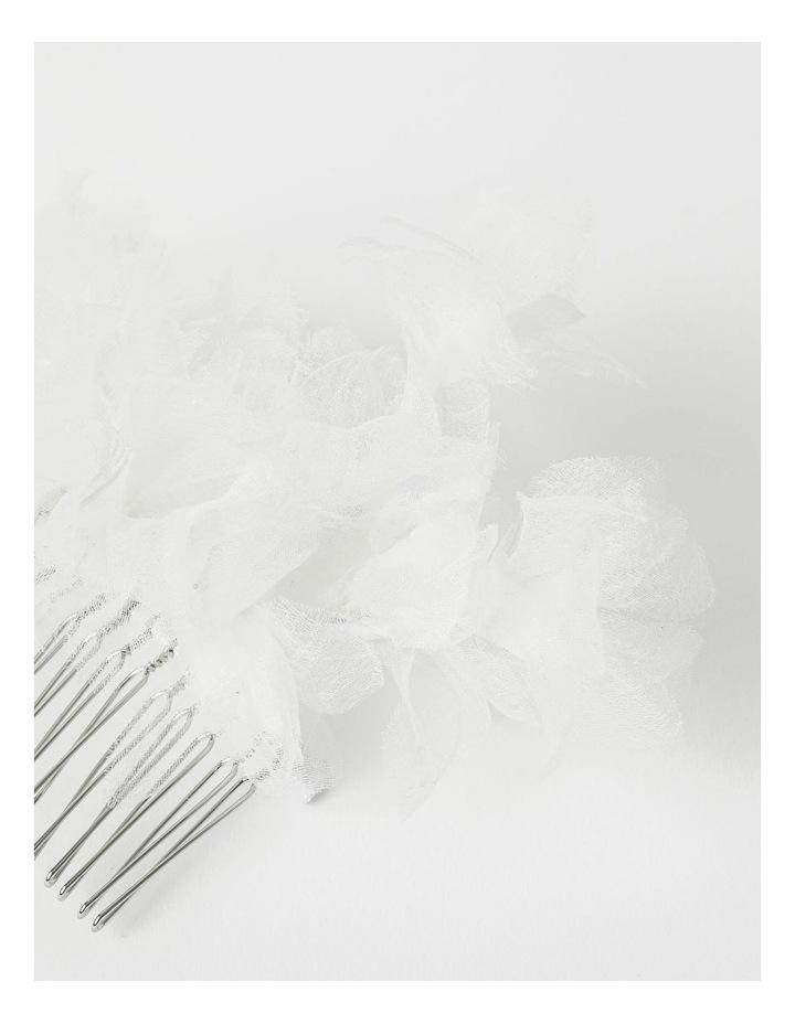 Collection Organza Flower Hair Slide image 3