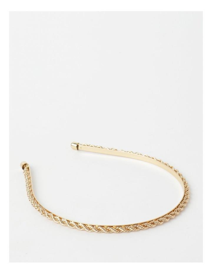 Twisted Metal Gold Headband image 1