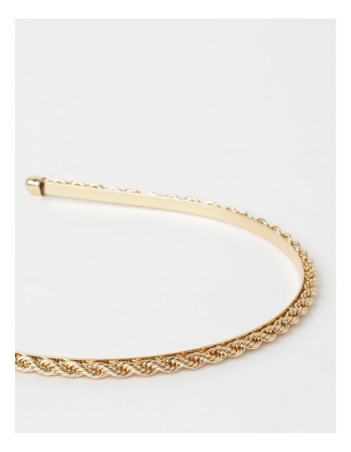 Twisted Metal Gold Headband image 7