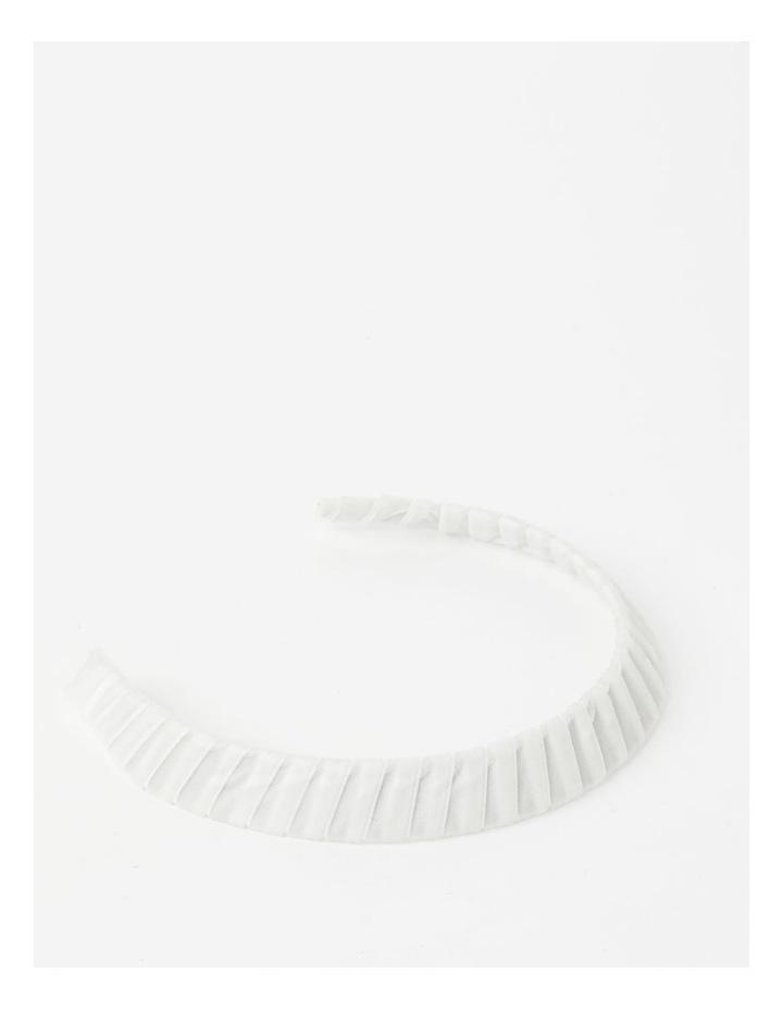 Velvet White Wrap Crown image 3