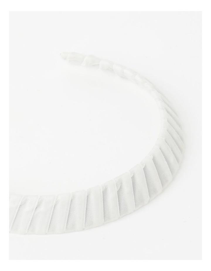 Velvet White Wrap Crown image 5
