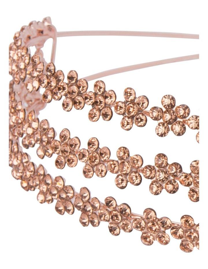 Trianna Crystal Rose Headband image 4