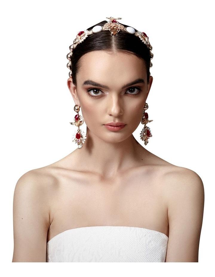 Zaliki Magenta Headband image 2