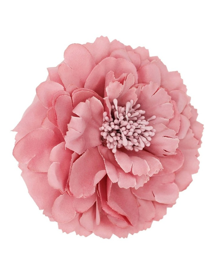 Fabric Dusty Pink Flower Clip image 1