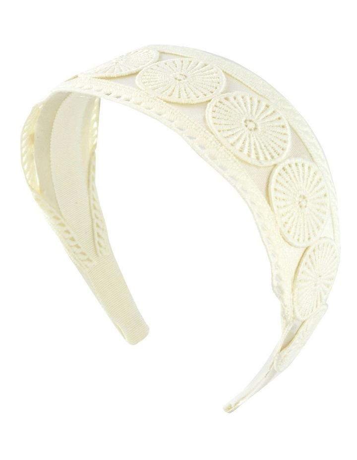 Textured Embroidery Style Headband image 1