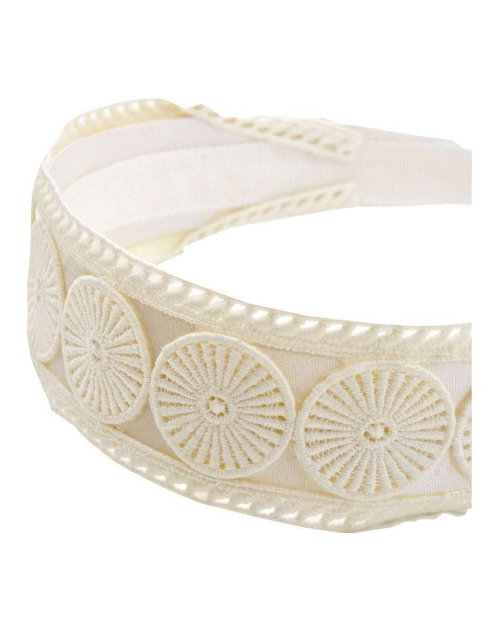 Textured Embroidery Style Headband image 2