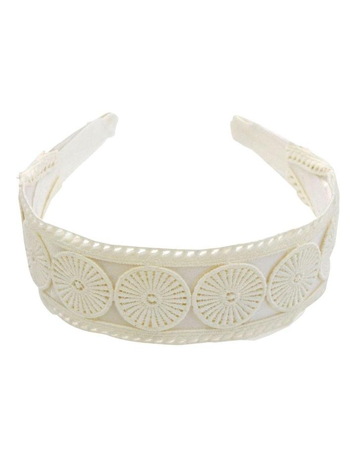 Textured Embroidery Style Headband image 3