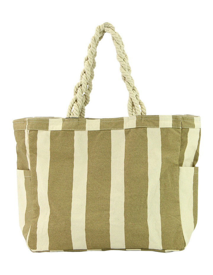 139BC3501 Striped Beach Bag image 1