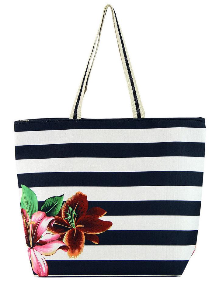 MY255-4 Floral Beach Bag image 1