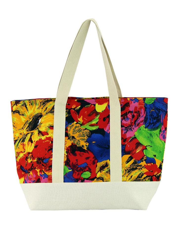 MY265-2 Floral Beach Bag image 1