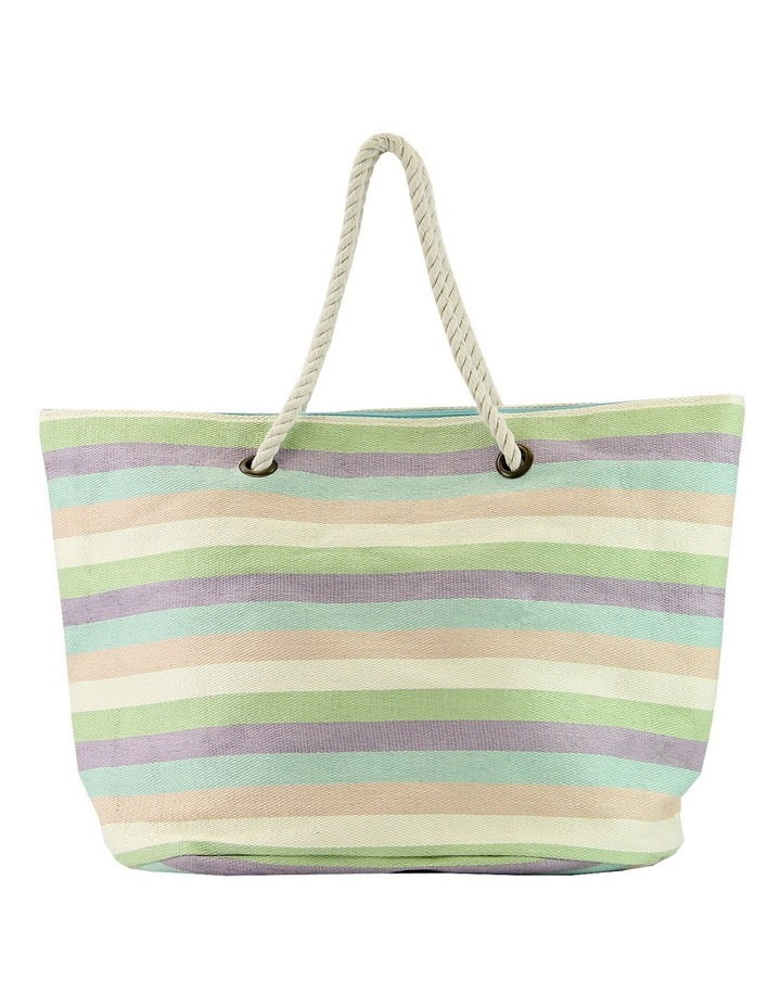 MY162-2 Striped Beach Bag image 1