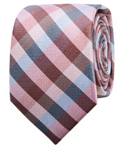 Pink Gingham Check Tie
